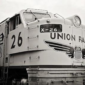 by Kristi Parker - Transportation Trains