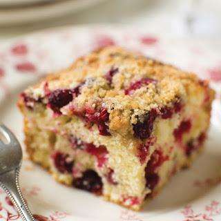 Cranberry Buckle Recipe