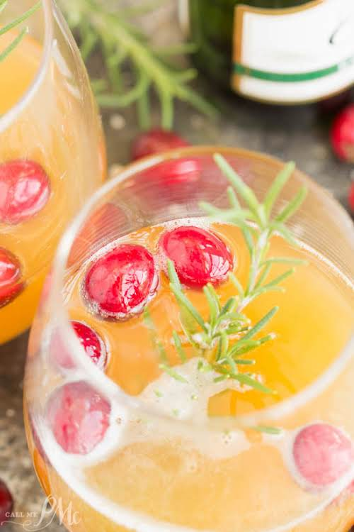 """2 Ingredient Apple Cider Mimosa Cocktail """"Furthermore, this is a unique cocktail...."""
