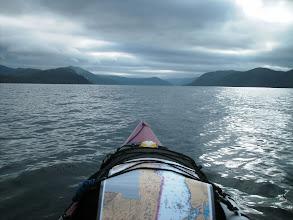Photo: Going north up Fitz Hugh Sound.