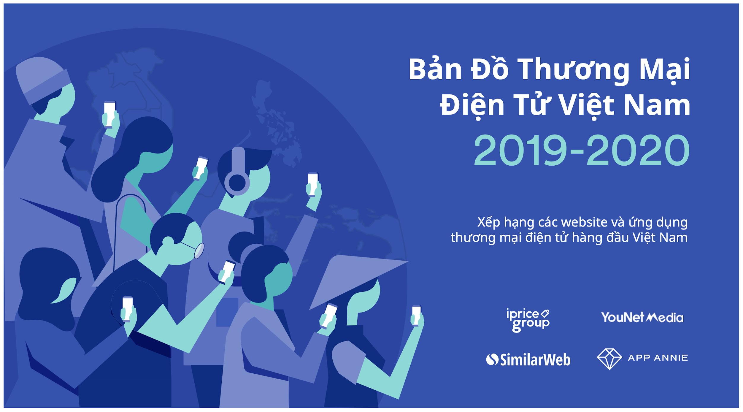 Bản đồ Thương Mại Điện Tử Việt Nam 2019 – 2020 (Cập nhật 03/2020)