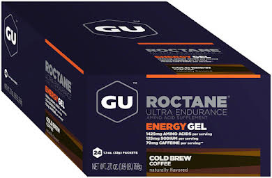 GU Roctane Energy Gel: Cold Brew Coffee, Box of 24 alternate image 2