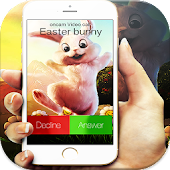 call from easter bunny prank