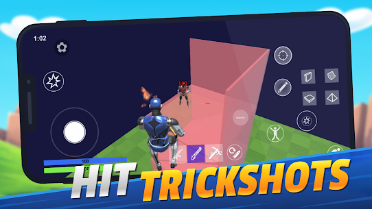 1v1.LOL – Online Building  MOD APK [God Mode + Headshot] 1.400 5