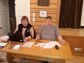 Photo: Kokouksen puheenjohtajana toimi Ari Pirhonen ja sihteerinä Ritva Havukainen.