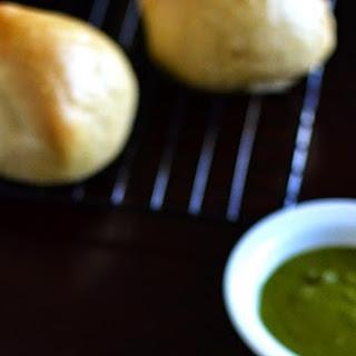 Sri Lankan Seeni Sambol Buns for #BreadBakers
