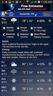 Knoxville Wx- screenshot thumbnail