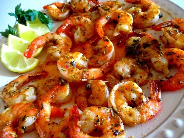 ~ Spicy Herb Broiled Shrimp ~ Recipe