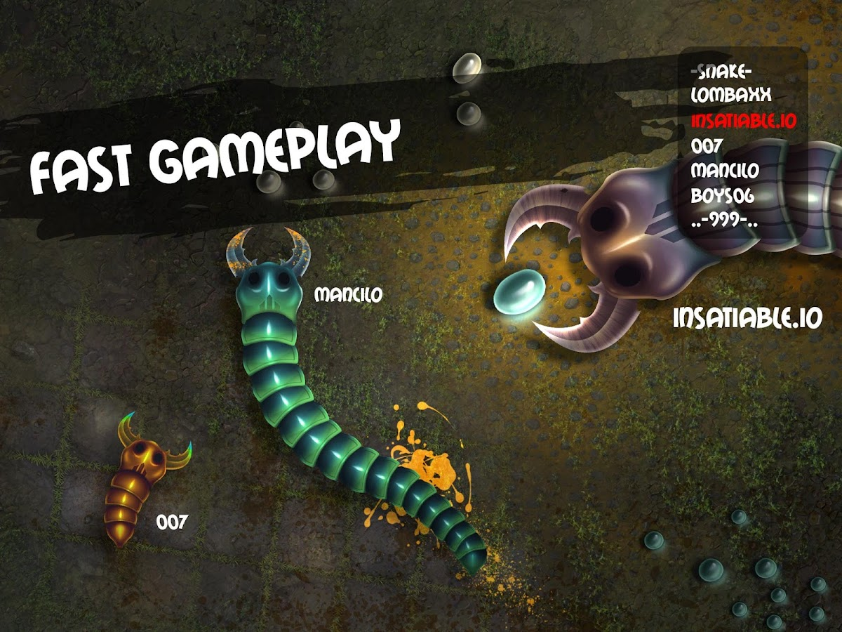 insatiable io snakes- screenshot