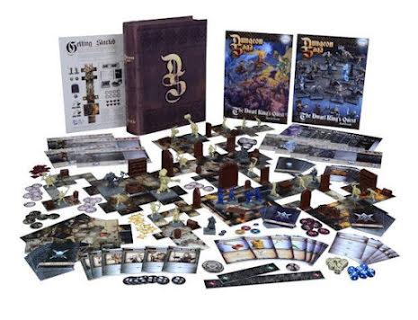Dungeon Saga Basic Game: The Dwarf King´s Quest
