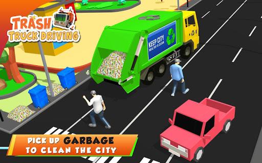 Urban Garbage Truck Driving - Waste Transporter 1 screenshots 9