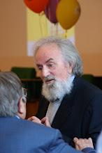 Photo: Giuseppe Stoppiglia con (di spalle) il prof. Pietro Barcellona.