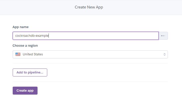 Uploading the app to Heroku