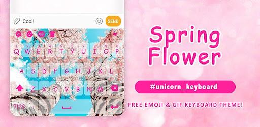 Spring Flower Emoji Keyboard Theme - Apl di Google Play