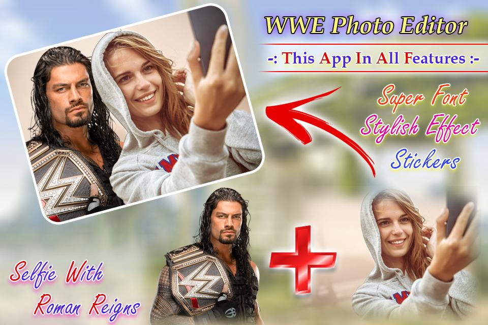 Selfie With Roman Reigns & All WWE Wrestler- screenshot
