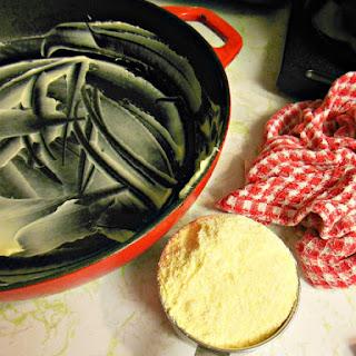 Baked Polenta with Parmesan.