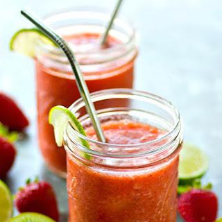 Strawberry Kiwi Agua Fresca Cocktails Recipe