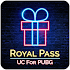 Win Free Elite Royal Pass & Get UC 1.2