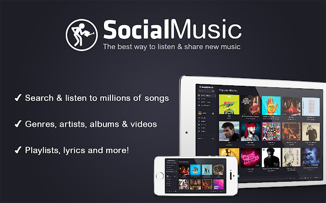 Social Music - Listen & share new music