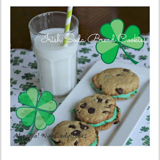 Irish Soda Bread Chocolate Chip Cookies