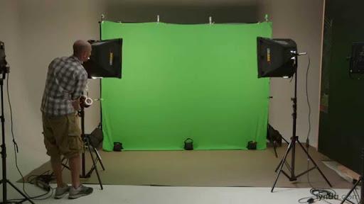 Green screen streaming