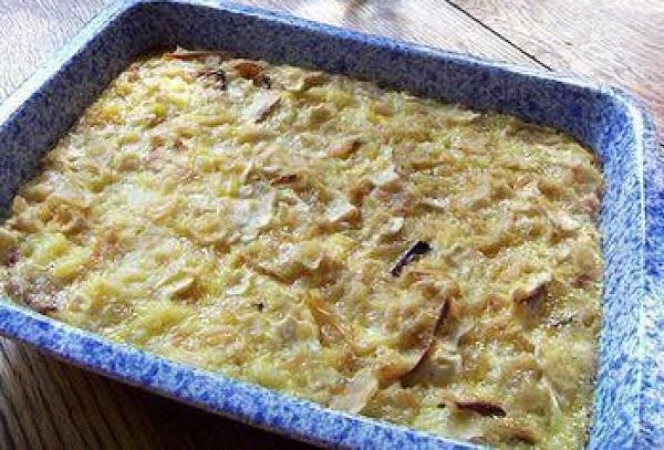 Passover Onion Kugel Recipe