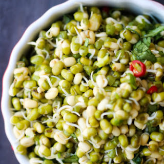 Sprouted Mung Bean Salad.