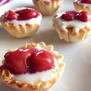 Phyllo Cherry Pie Tartlets
