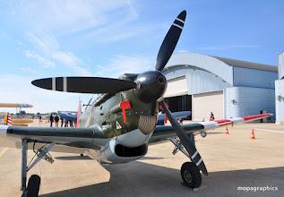 Photo: Un avions complexe à construire (16 000 h contre 4 500 pour un Me109) à l'image de son train d'atterissage