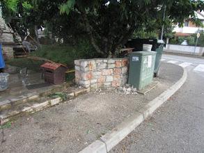 Photo: Novi zidić na početku Kašćuna!