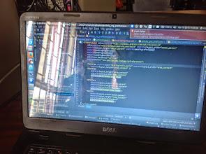 Photo: One developer's Android Studio code