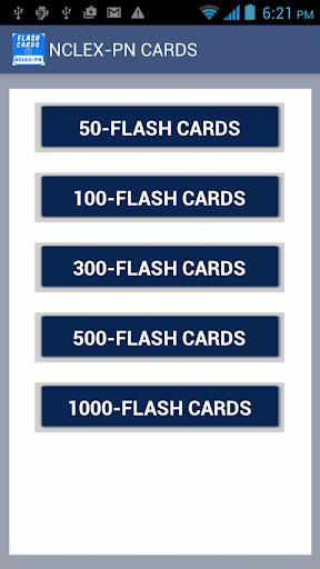 NCLEX-PN5000フラッシュカード