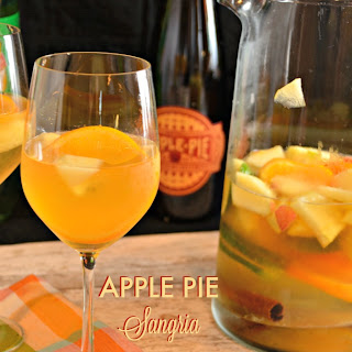 Apple Pie Sangria with Jim Beam Apple