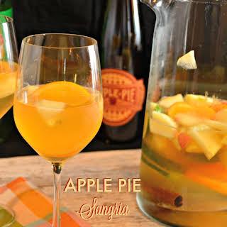 Apple Pie Sangria with Jim Beam Apple.