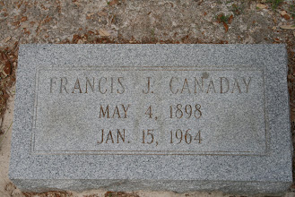 Photo: Francis J Canaday / Family Unknown