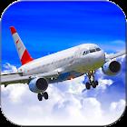 飞行员真正的模拟器:快速的飞机3D icon