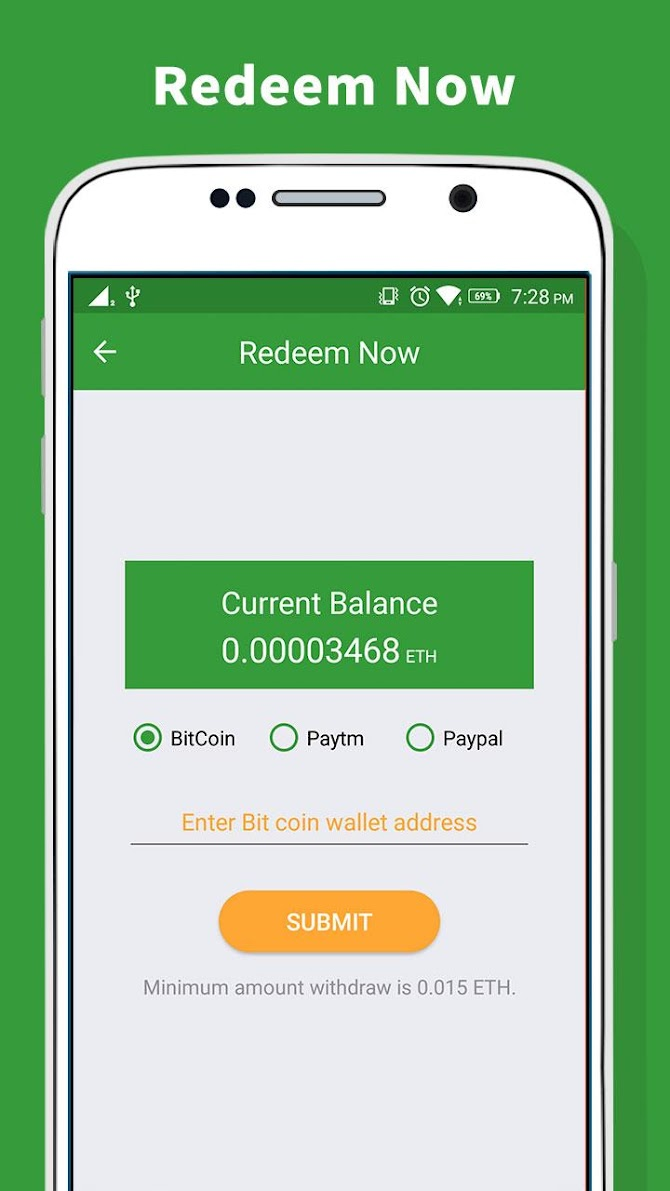 Ethereum Miner - Earn Free ETH Android 5