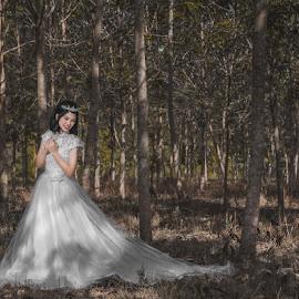 Prewedding  by Ryan Chai - Wedding Bride ( portrait )