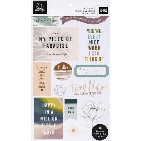 Heidi Swapp Sticker Book - Care Free