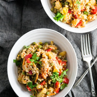 Spicy Pineapple Fried Rice.