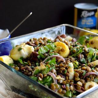 Mediterranean Lentil Salad.
