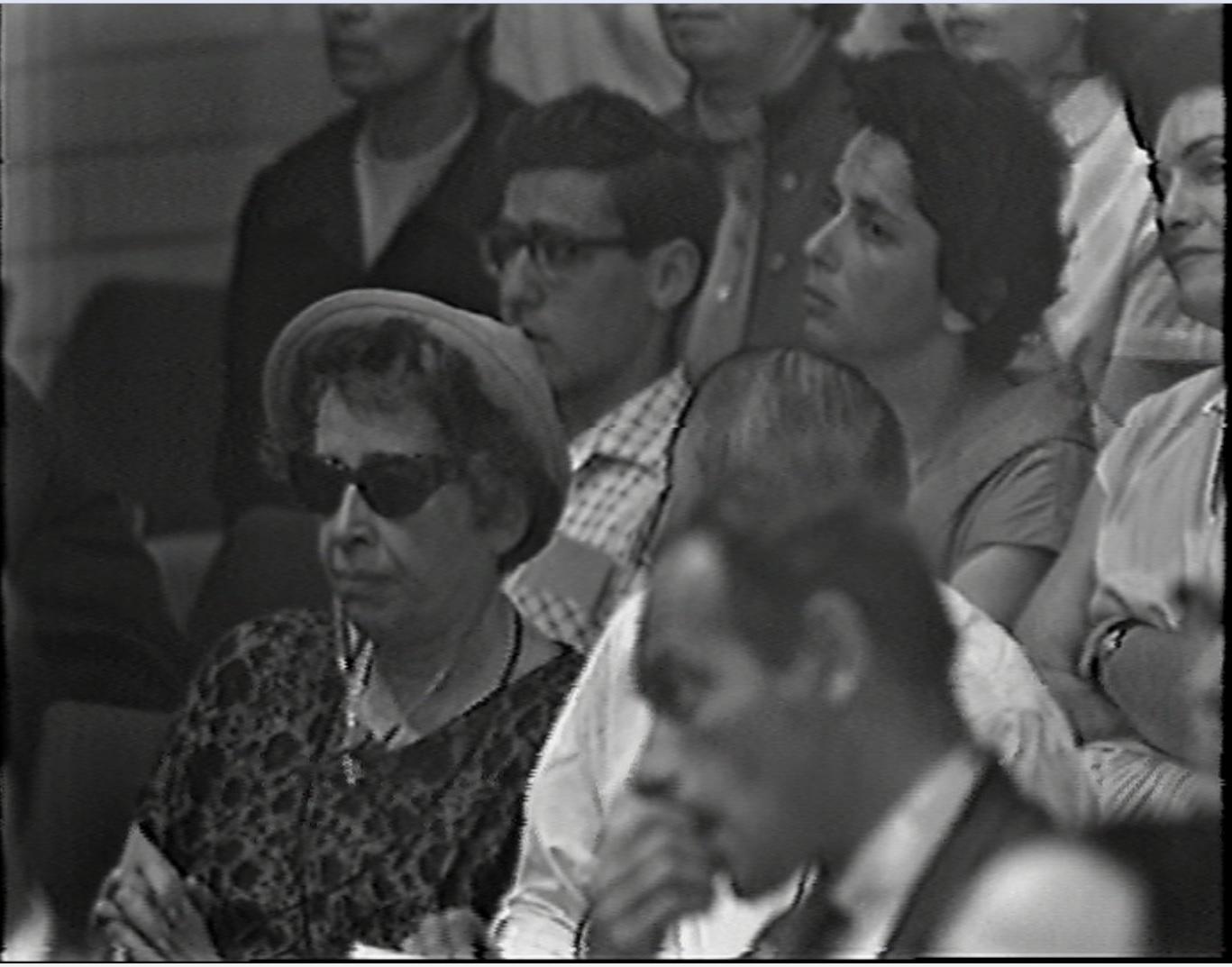 Eichmann trial Hannah Arendt audience