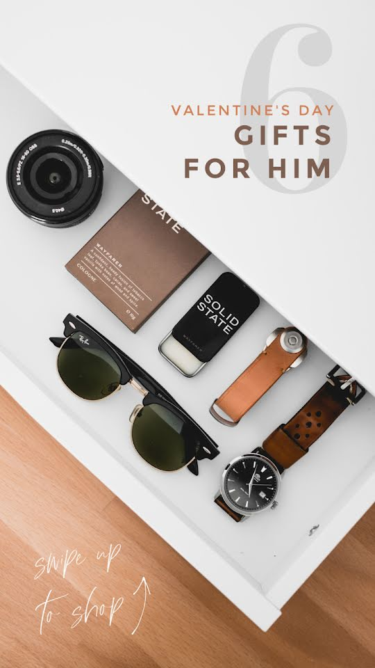 Valentine's Gifts for Him - Valentine's Day Template