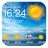 weather and temperature app Pro Icône