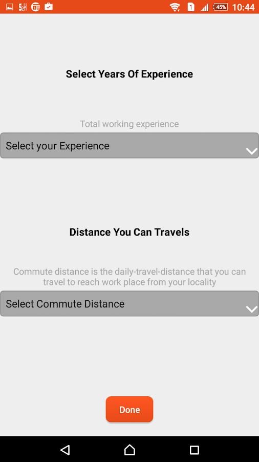 Jobs and video resume creator- screenshot