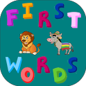 First Words Animals - Kids icon