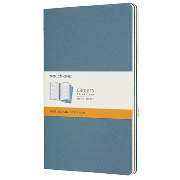 Cahier Journal Pocket Brisk Blue