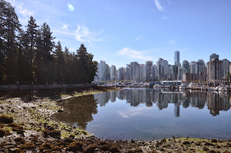Photo: Vancouver from Stanley Park