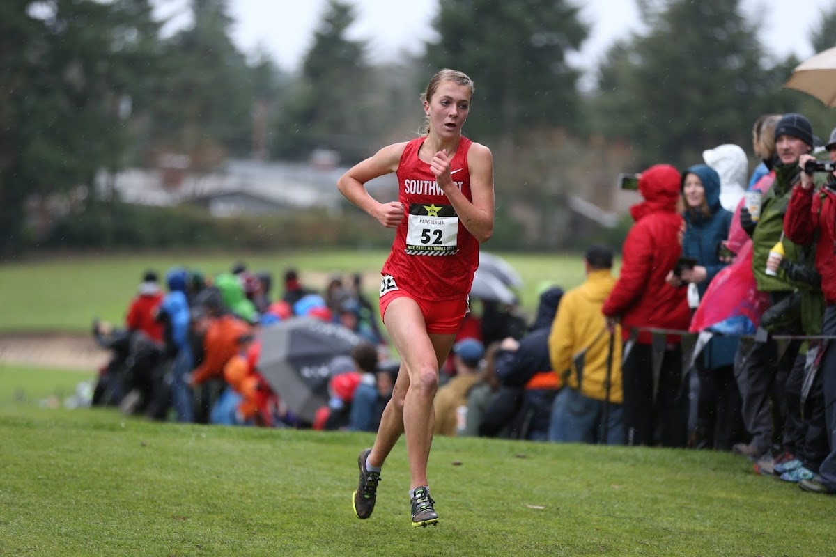 e0545b7403 Katie Rainsberger capped her high school cross country career by dominating  the girls championship at Glendoveer Golf Course. 2016. Oakley