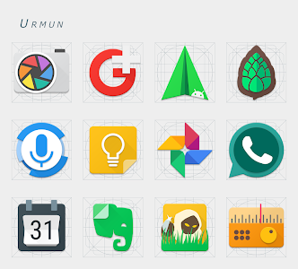 Urmun - Icon Pack screenshot 9
